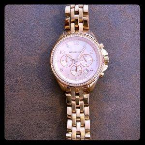 Rose gold Michael Kors woman's watch!!